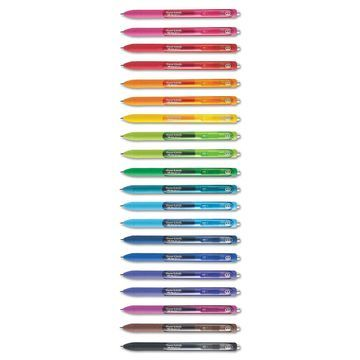 Paper Mate InkJoy Gel Retractable Pen 0.7mm Assorted Ink 20/Pack 1951718