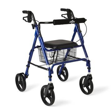 Medline Large Wheel Rollator/ Walker (Medline Rollator/Walker with Large wheels)
