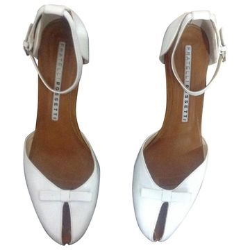 Fratelli Rossetti White Leather Heels