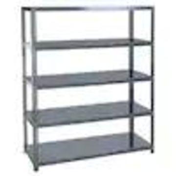 edsal 96-in H x 72-in W x 24-in D 5-Tier Steel Freestanding Shelving Unit