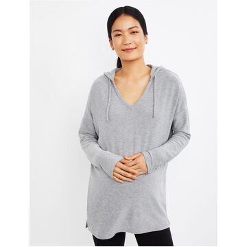 Chaser Laced Sleeve Maternity Hoodie
