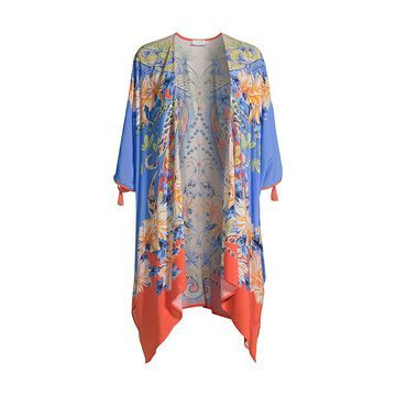 Johnny Was Kahlo Short Kimono