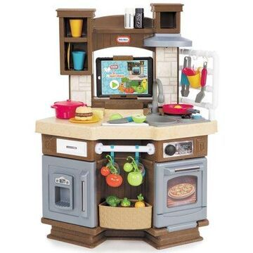Little Tikes Cook 'n Learn Smart Play Kitchen with 40+ Piece Accessory Play Set and 4 Play Modes