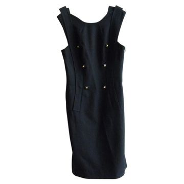 Givenchy Navy Wool Dresses