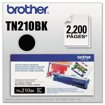 Brother TN210BK Toner Black