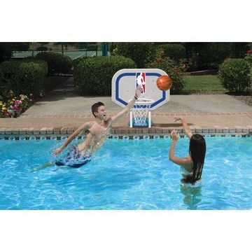 Poolmaster NBA Logo Pro Rebounder-Style Poolside Basketball Game