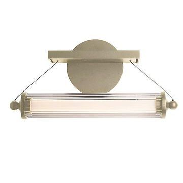 Hubbardton Forge Libra LED Sconce - Color: Clear - 209105-1008