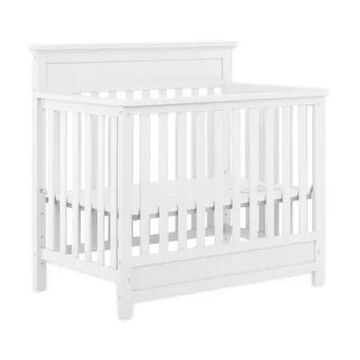 Dream On Me Harbor 3-In-1 Convertible Mini Crib In White