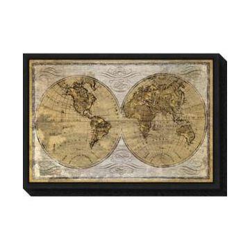 Amanti Art Worldwide I by James Wiens Canvas Framed Art