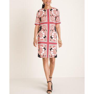 Printed Scuba Dress