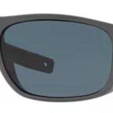 Costa Del Mar Tico 580P Polarized Sunglasses - Matte Gray/Gray - Standard