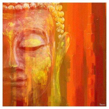 Parvez Taj Buddha Art Print on Premium Canvas
