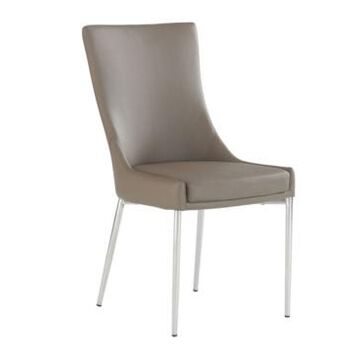 Chintaly Patricia Designer Seat Dining Chair, Set of 2