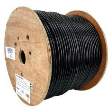 Tripp Lite Cat6/Cat6e Bulk Ethernet Cable - 600MHz Solid Core Outdoor-