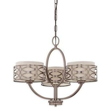 Filament Design Harlow 5-Light Flush-Mount Chandelier in Bronze