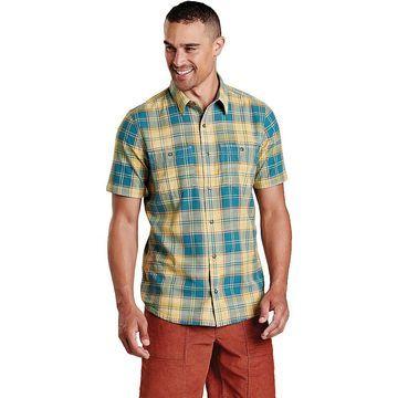 Toad & Co Men's Smythy SS Shirt - XL - Hydro