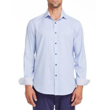 Tallia Men's Slim-Fit Gingham Dress Shirt