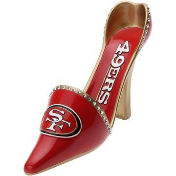 San Francisco 49ers High Heel Shoe Bottle Holder - Scarlet
