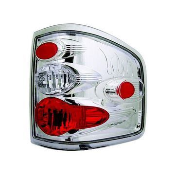 IPCW 04-08 Ford F150/F250 LD Tail Lamps Flareside Crystal Clear CWT-CE539C Pair