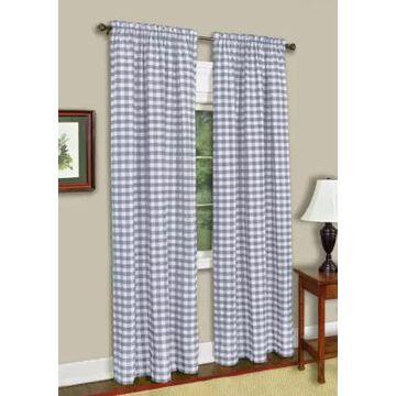 Achim Buffalo Check Window Curtain Panel -