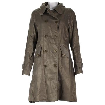 Temperley London Gold Cotton Trench coats
