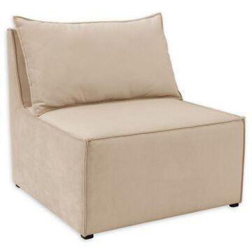 Skyline Furniture Kenia Armless Chair in Cream