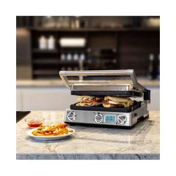 Kalorik Stainless Steel Pro Digital 6-in-1 Contact Grill & Panini Press