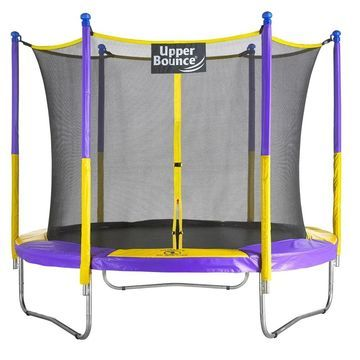 Upper Bounce 9-foot Trampoline & Enclosure Set Equipped with the New