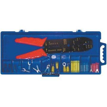 Ancor 120 Piece Premium Electrical Connector Kit with Crimp Tool
