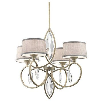 Kichler 43565 Casilda Chandelier with 4 Lights