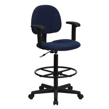 Ergonomic Drafting Chair - Flash Furniture