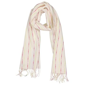Burberry Ecru Wool Scarves