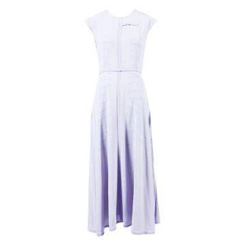 Victoria Beckham Purple Polyester Dresses
