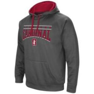 Colosseum Stanford Cardinal Men's Poly Performance Hooded Sweatshirt