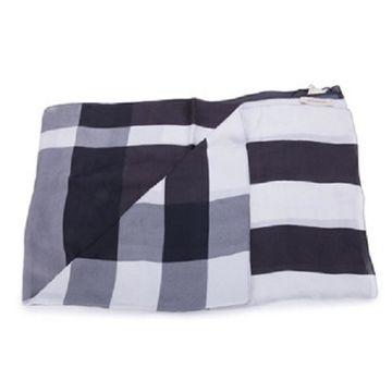Burberry Grey Silk Scarves