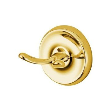 Kingston Brass Classic Robe Hook, Polished Brass