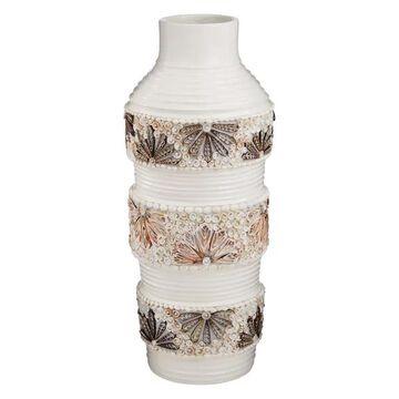 Dimond Home Terracotta Shell Vase