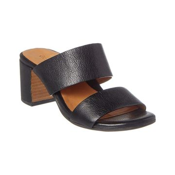 Gentle Souls By Kenneth Cole Cherie Leather Sandal