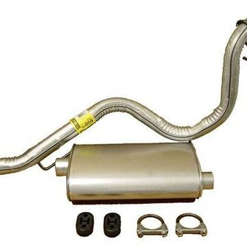 Rugged Ridge Exhaust Parts, Omix Muffler and Tailpipe Kit