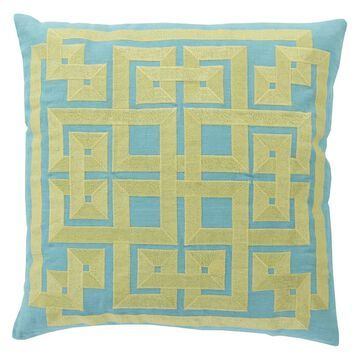 Surya Intersected Geometrics Decorative Pillow