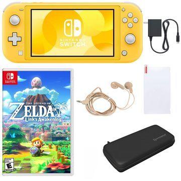 Nintendo Switch Lite w/ Zelda: Link's Awakening& More