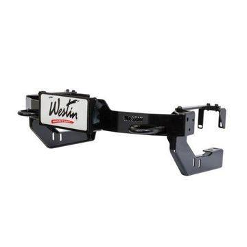 Westin MAX Winch Tray License Plate Bracket - Black