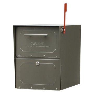Oasis Classic Post Mount Mailbox, Bronze