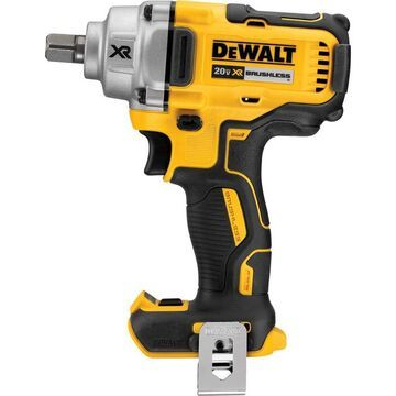 DEWALT 20 Volt MAX XR Mid-Range Cordless Impact Wrench with Detent Pin Anvil - Tool Only, 1/2Inch Drive, 330 Ft./Lbs. Torque, Model DCF894B