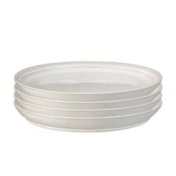Denby Natural Canvas Set/4 Coupe Dinner Plate