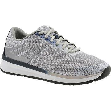 Drew Mens Thrust Walking Shoes Performance Lifestyle - Grey/Navy/Mesh