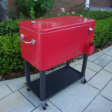 Oakland Living 80 qt. Patio Cooler Cart