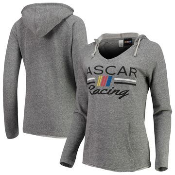 NASCAR Concepts Sport Women's Mainstream Tri-Blend Pullover Hoodie Gray