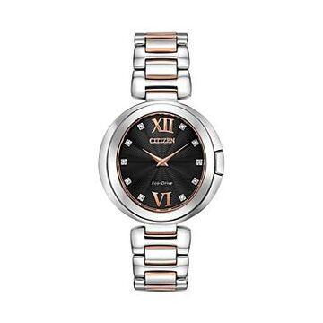 Citizen Capella Black Dial Watch, 34mm