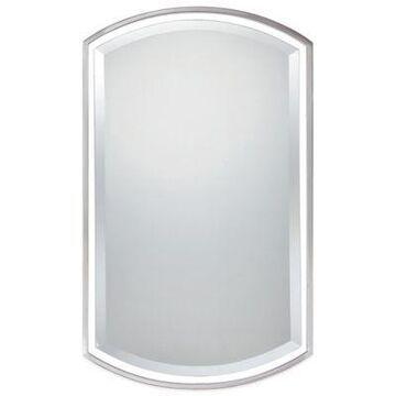 Quoizel Breckenridge 35-Inch x 21-Inch Mirror in Brushed Nickel